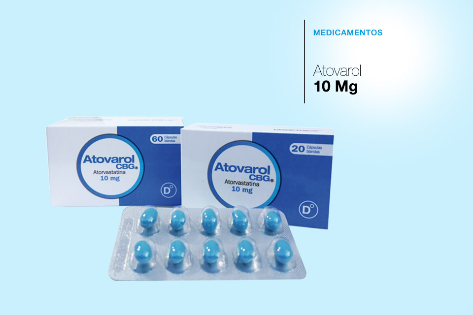 Atovarol 10 Mg Caja x 60