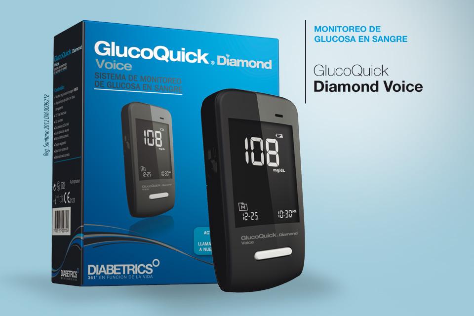 GlucoQuick Diamond Voice